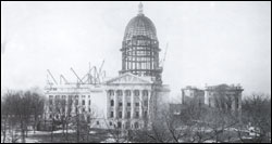 Present Capitol Under Construction - 1913